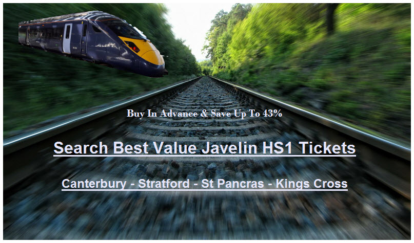 Best Price HS1 Javelin Fares